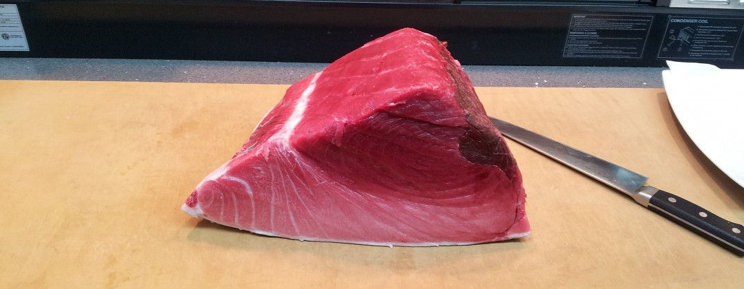 Big chunk of Blue Fin Tuna